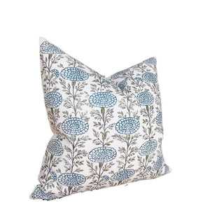 Lisa Fine Samode Pillow Cover in Indigo