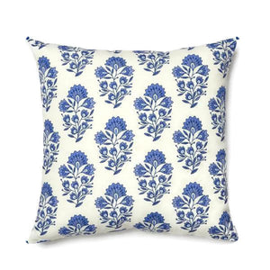 Caitlin Wilson Santorini Print Pillow Cover in Blue