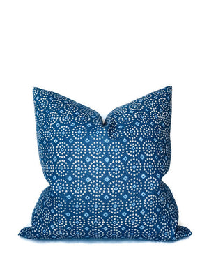 Peter Dunham Sari Pillow Cover in Indigo Blue