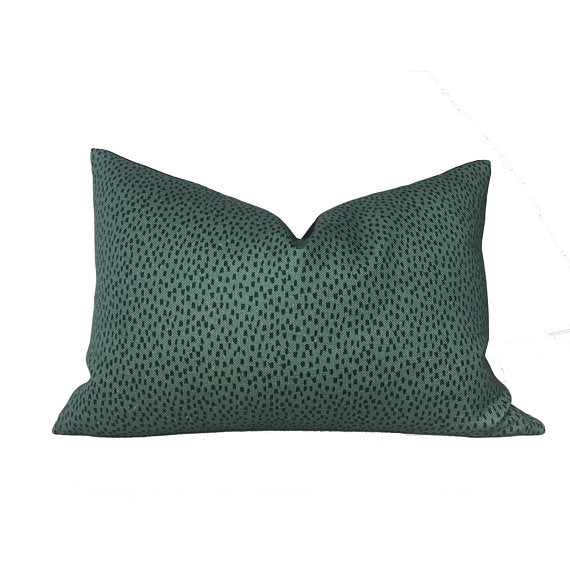 Clay McLaurin Shibori Pillow Cover in Fern