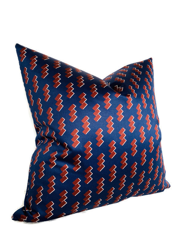 Zak and Fox Shide Pillow Cover in Konji Blue