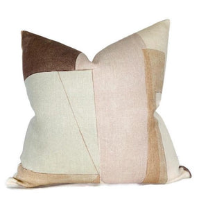Kelly Wearstler District Pillow Cover in Silt Brown