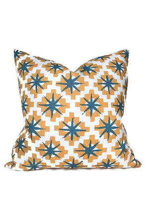 Peter Dunham Starburst Pillow Cover in East