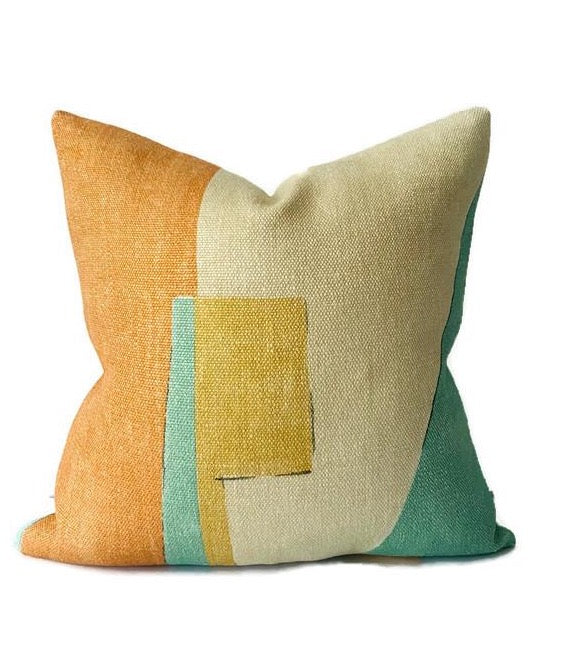 Ready to Ship, 16x16, Kelly Wearstler District Pillow Cover in Tawny
