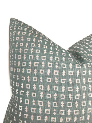 Peter Dunham Wabi Pillow Cover in Ocean
