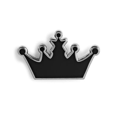 PINTRILL CROWN ENAMEL PIN