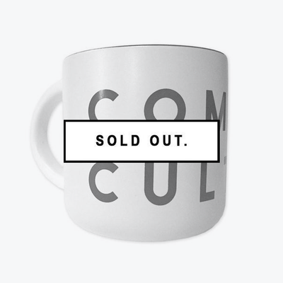 COMMON CULTURE WHITE MUG