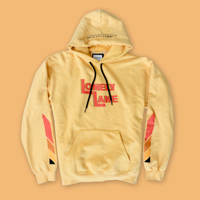 LONELY LANE HOODIE ORNG