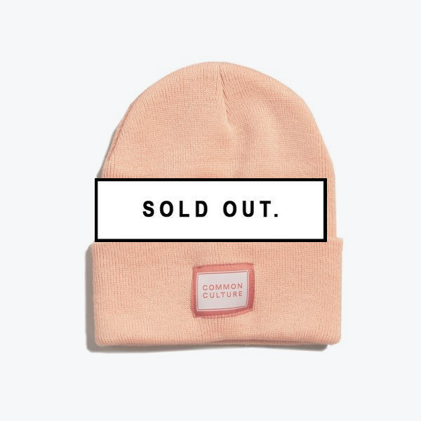 CC Common Culture Beanie