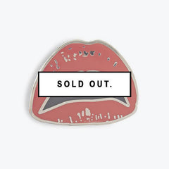 PINTRILL LIPS ENAMEL PIN