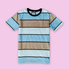 STRIPED T-SHIRT PNK