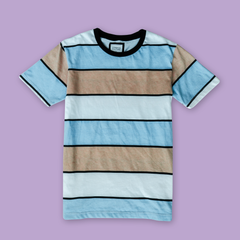 STRIPED T-SHIRT PRPL