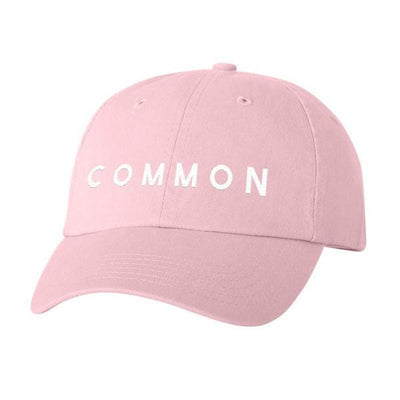 COMMON CULTURE PINK BASEBALL HAT