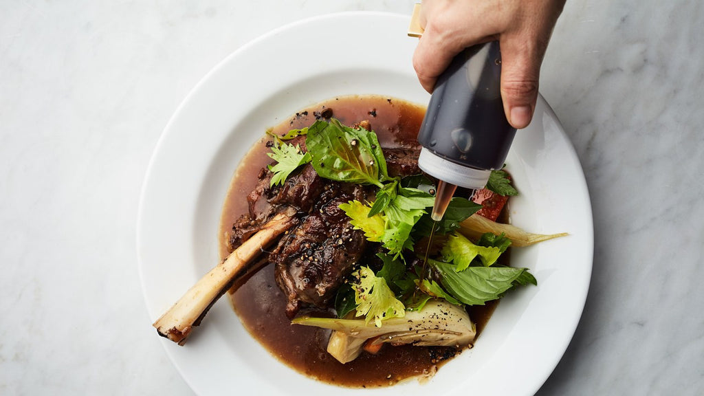 Braise Lamb Shanks with Fish Sauce