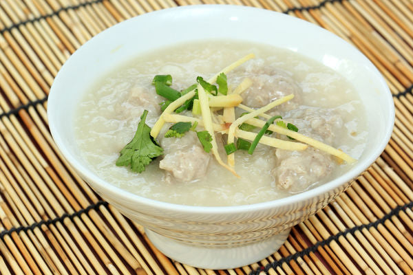Patricia Wells' Spicy Chicken and Rice Porridge with Lemongrass Chao Ga