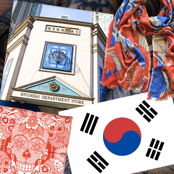 Furious Goose Designer Scarves are coming to South Korea