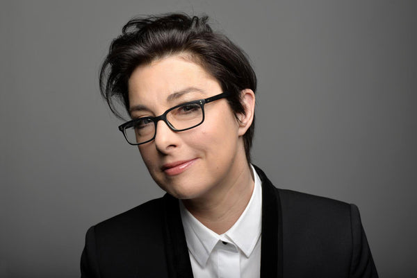 Sue Perkins shout out for our rebellious luxury scarves