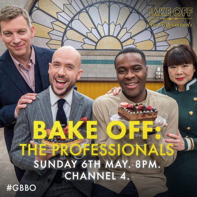Luxury Pocket Squares in UK TV baking extravaganza