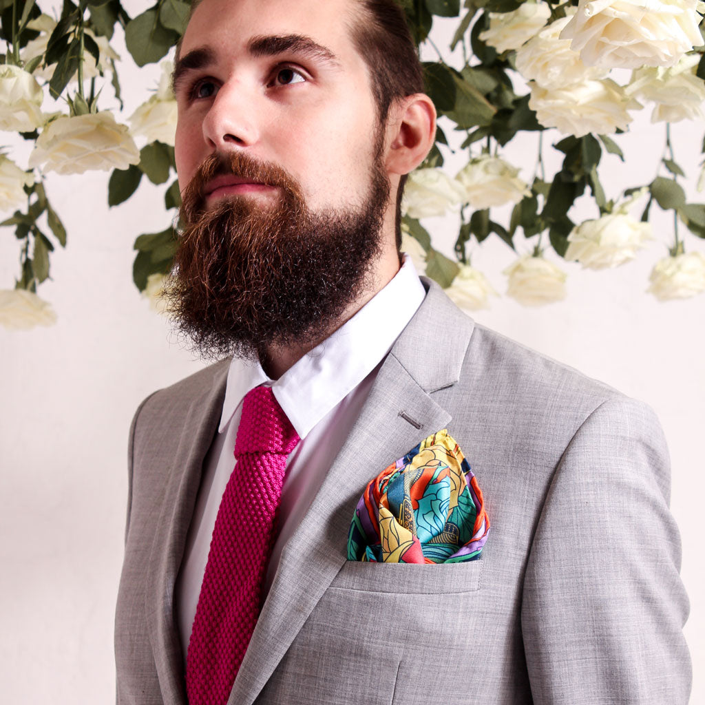 Luxury Pocket Square – Groomsmen Gift