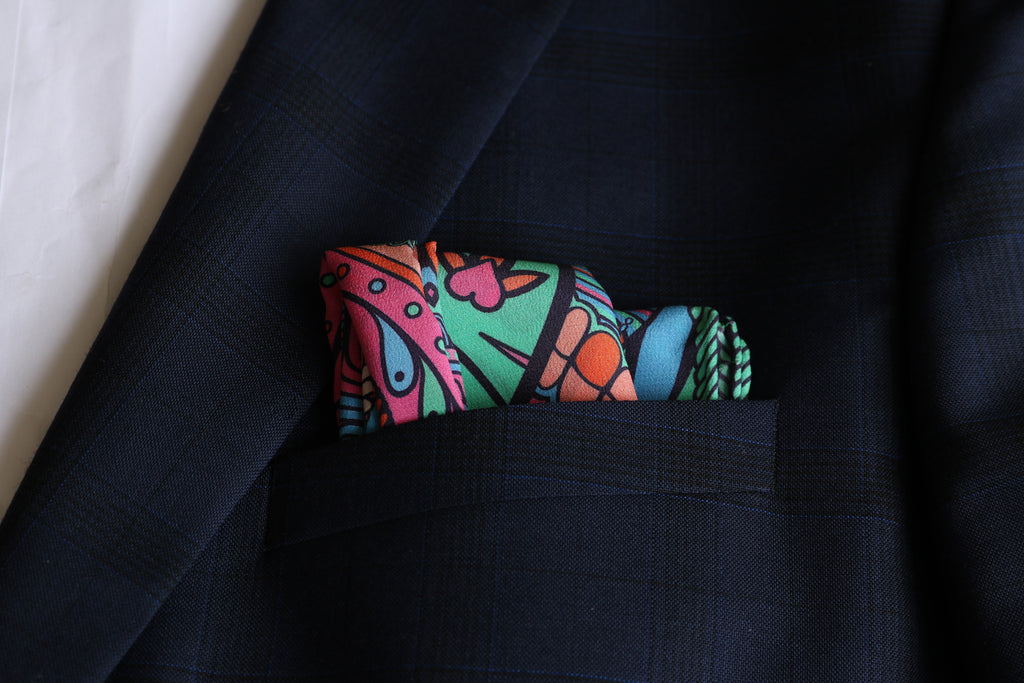 Designer Pocket Square for the Best Man