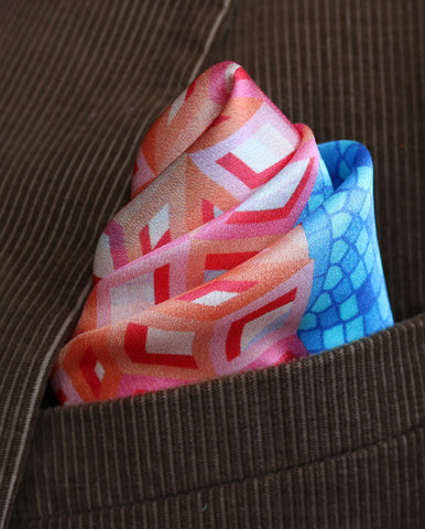 Pocket Squares New York, Pocket Square New York, Luxury Silk Squares, Pochette, Made in UK, Made in England