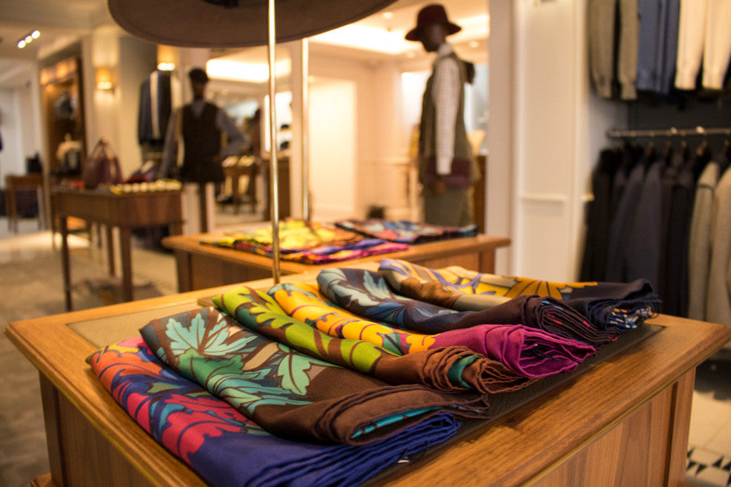 Pocket Squares UK, Mayfair, Luxury Pocket Square, Silk Scarf, London