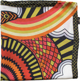 Furious Goose Luxury Silk Pocket Square