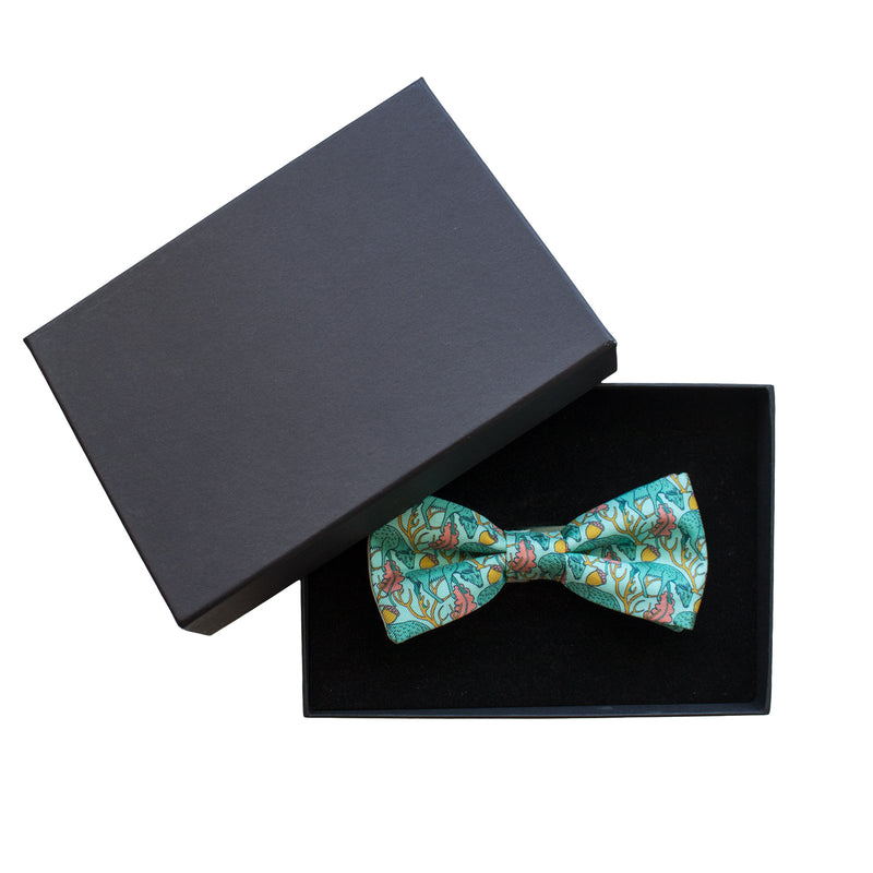 Luxury handmade bow tie, pre-tie, dickie bow, made in Scotland, mens accessories UK