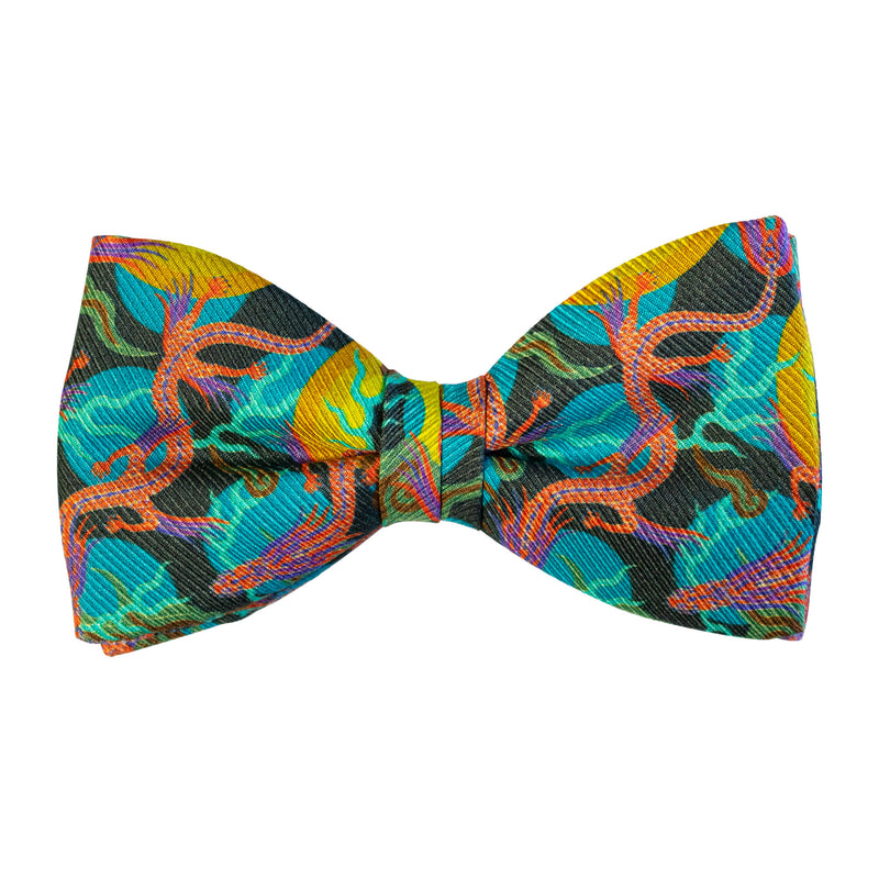 Bold Bow Tie, Neon Bow ties, Dickie Bow, Luxury Accessory, British Brand, Black Tie Event, Party Fashion, Made in UK
