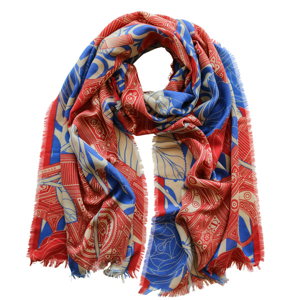 34b0dd8dd Designer Scarves are coming to South Korea, Mens Luxury Scarf Design ...