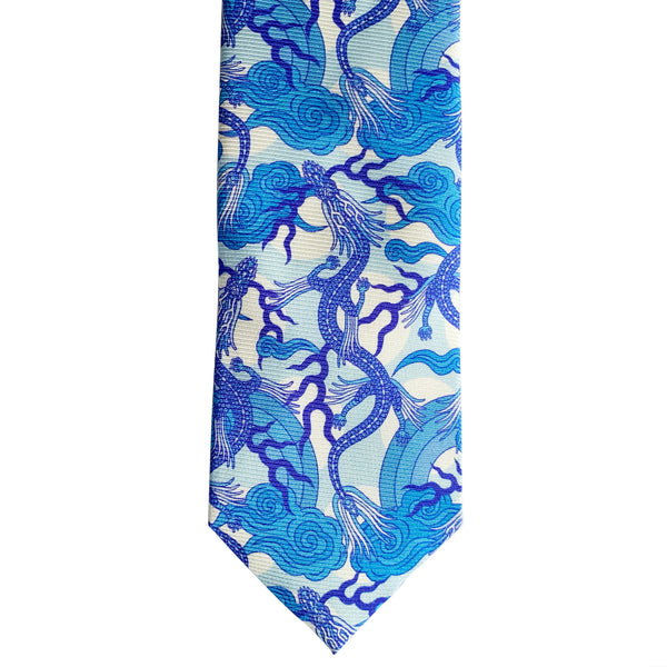 Fine Silk Ties, Luxury Neck Tie, British Luxury, Delftware, Wedgewood Tie, Chinoiserie, Blue Tie, Wedding Tie, Groomsmen Gift