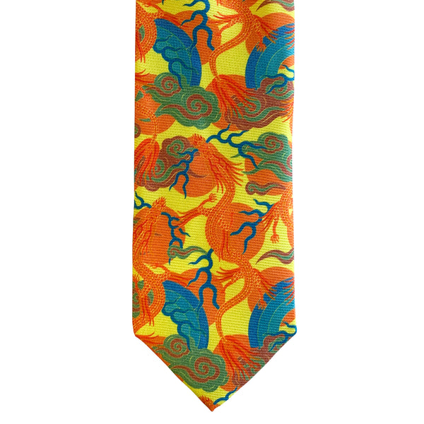 Luxury Silk Tie, Bold Tie, Colourful Neck Tie, Luxury Accessory, London, UK