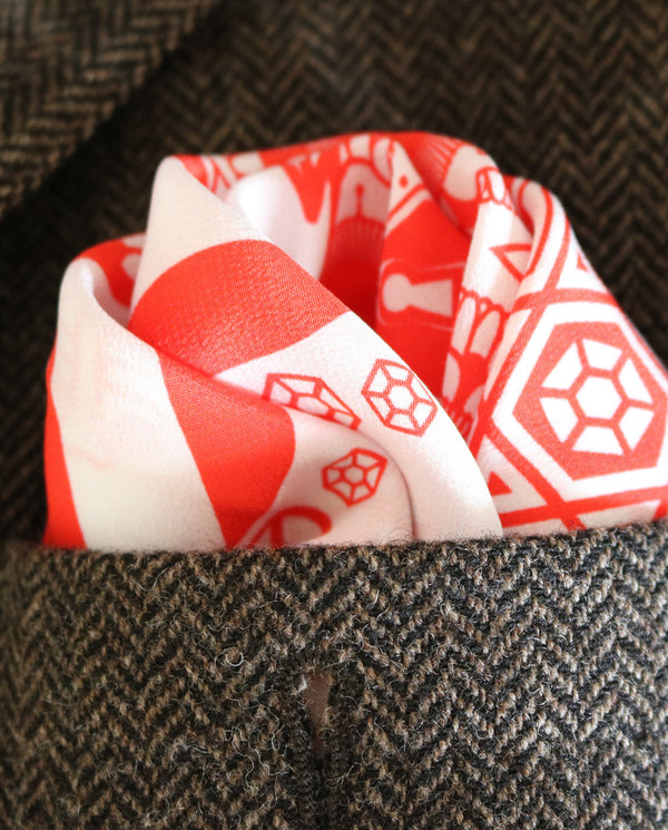 Pocket Squares UK, Silk Pocket Square, London, Luxury Pochette, Made in England