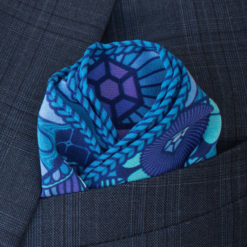 Pocket Square UK, Luxury Pochette, Silk Pocket Square, London