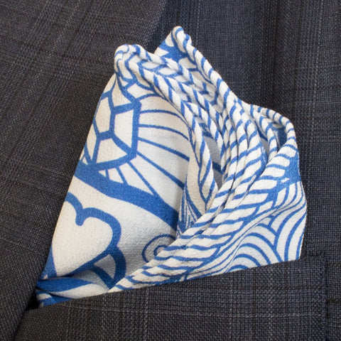 Silk Pocket Square, Luxury Pochette, Pocket Squares UK, London, Mayfair, New York