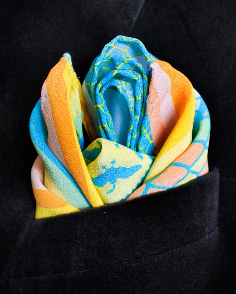 Pocket Square, Gift Idea of Him, Pocket Squares Edinburgh, London, Made in England, Luxury, Limited Edition, Designer