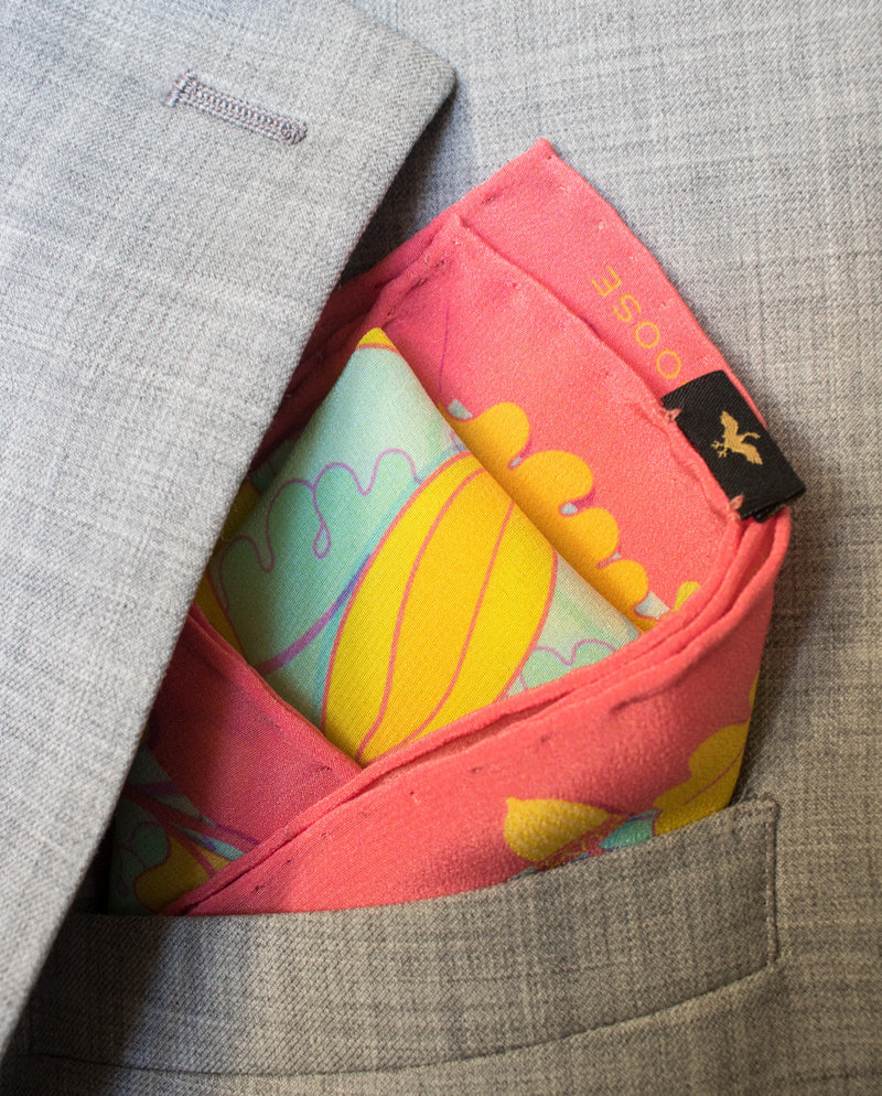 Silk Pocket Squares UK, Luxury Pocket Square, Made in UK, Gift Idea, Accessories
