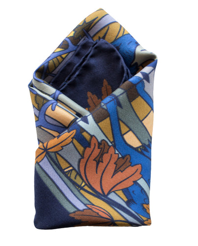 Gentlemans Pocket Square, Pocket Squares UK, Pochette, Handkerchief, Silk Square, Luxury Gift, Made in UK