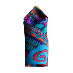 Luxury, 100% Silk Pocket Squares, Slow Fashion, Modern, Bold and Beautiful Colours