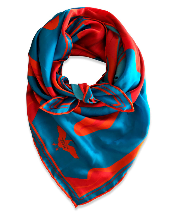 Silk Scarf, Satin Scarf, Feminist Scarf, Vagina Scarf, Luxury Gift Idea, Made in England, London, Brighton, Miami