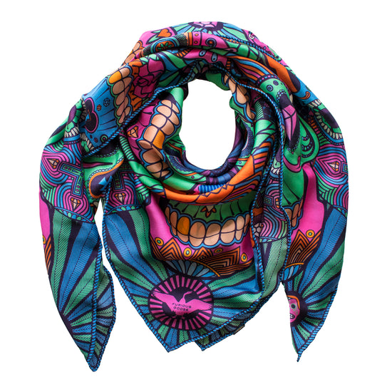 c8ef2ee7bc How to clean your luxury women s silk scarf – The surprising secrets ...