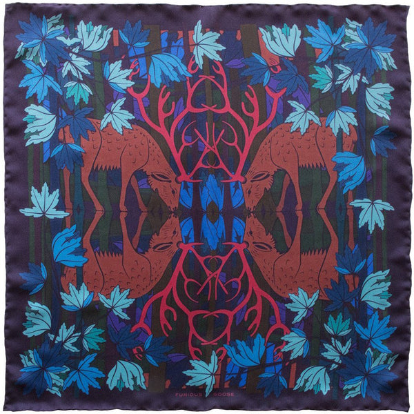 Silk Scarf, Foulard, Silk Scarves London, Silk Square, Luxury Gift, Made in England