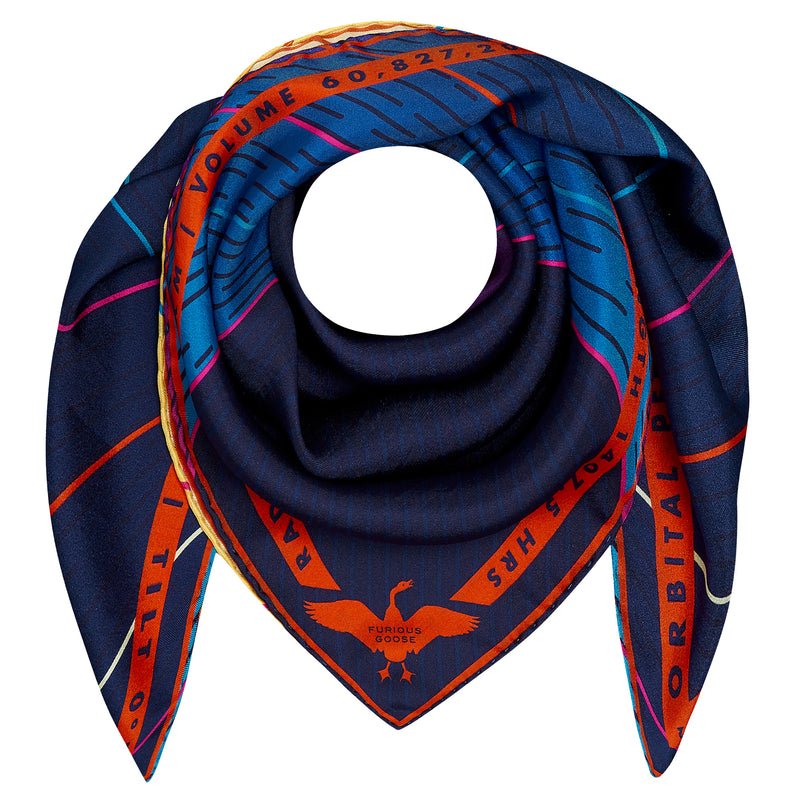 Luxury Scarf UK, Mercury, Planet Mercury, Hermes, Gift Ideas Gemini, Gift Ideas Virgo, Luxury Gift UK, London, New York, Space Gift