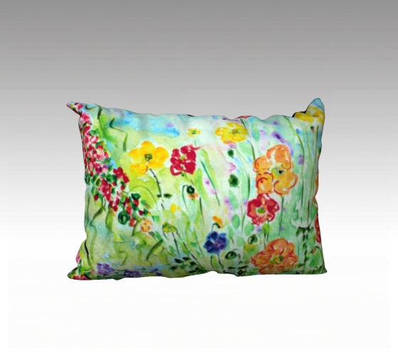 Pillow Case Spring Poppies
