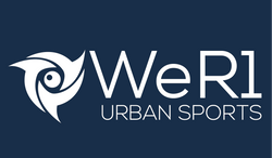 White logo - WeR1 urban sports