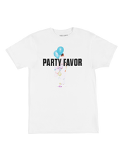 Party Favor w/ Balloons T-Shirt (WHITE)