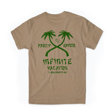 Load image into Gallery viewer, Infinite Vacation Tee (TAN)
