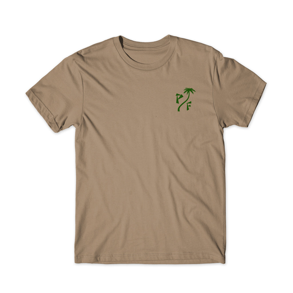 Infinite Vacation Tee (TAN)