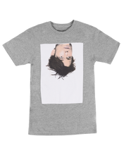 Load image into Gallery viewer, ǝpısdn uʍop ʎʇɹɐd ɹoʌɐɟ  T-Shirt (Grey)