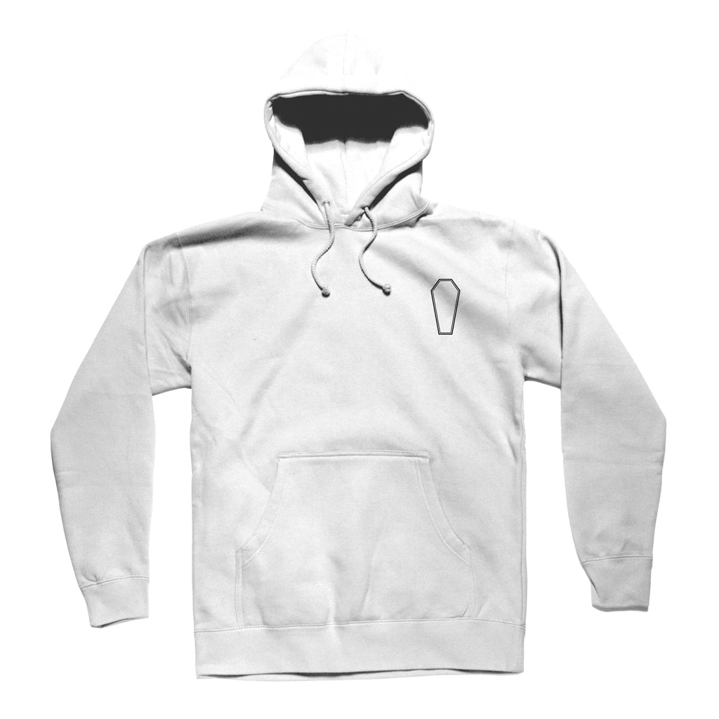 The Party Never Dies Hoodie (WHITE)